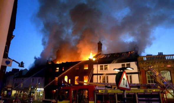 cherry picker hire suffolk blaze